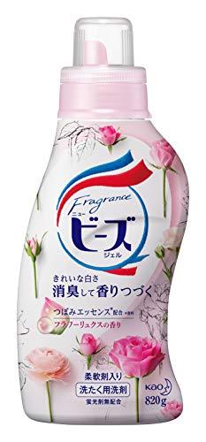 フレグランスニュービーズジェルジェルフラワーリュクスの香り洗濯洗剤液体本体820g