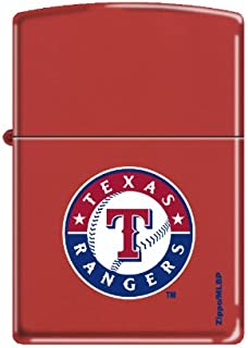 Zippo MLB Baseball Texas Rangers Lighter
