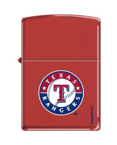 Zippo MLB Baseball Texas Rangers Lighter