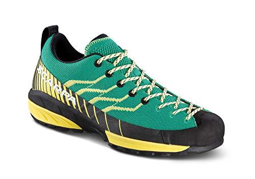 Scarpa Damen Mescalito Knit Schuhe, Aqua-Light Lemon, EU 38