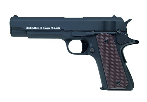 Softair Pistole GSG1911 aus Vollmetall, Kal. 6mm BB, AEP-System <0.5 Joule, 203653