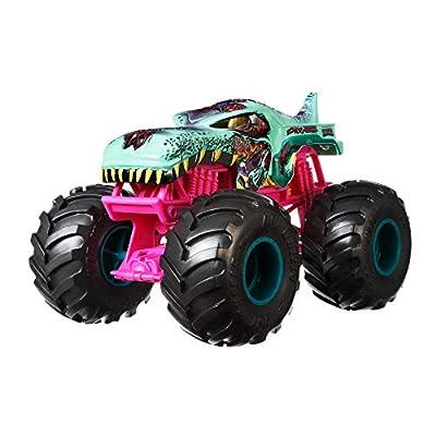 Amazon Com Pink Monster Truck