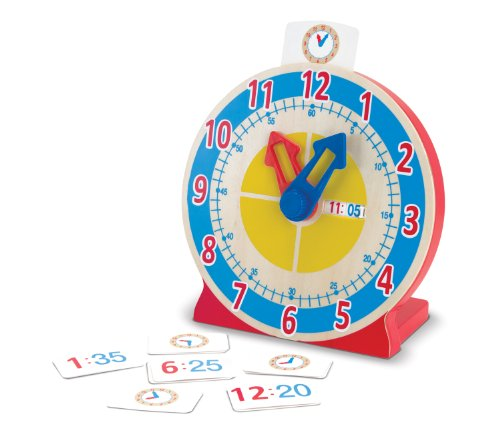 Melissa & Doug- Turn & Tell Orologio in Legno,...