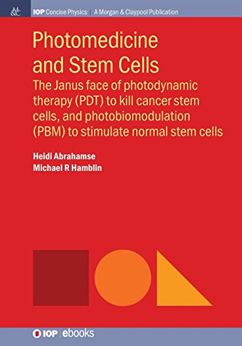 Photomedicine and Stem Cells: The Janus Face of Photodynamic Therapy (PDT) to Kill Cancer Stem Cells, and Photobiomodulation (PBM) to Stimulate Normal Stem Cells (Iop Concise Physics)