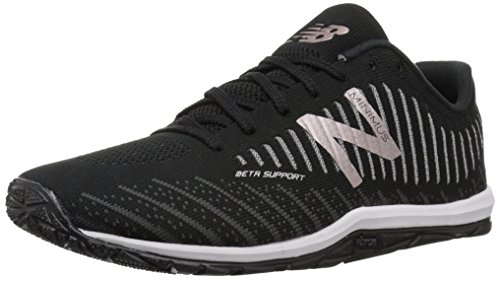 New Balance Women's Minimus 20 V7 Cross Trainer, Black/Phantom/Champagne Metallic, 9 M US