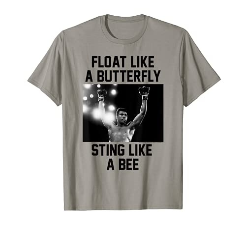 Muhammad Ali Float Like A Butterfly Sting Like a Bee T-Shirt