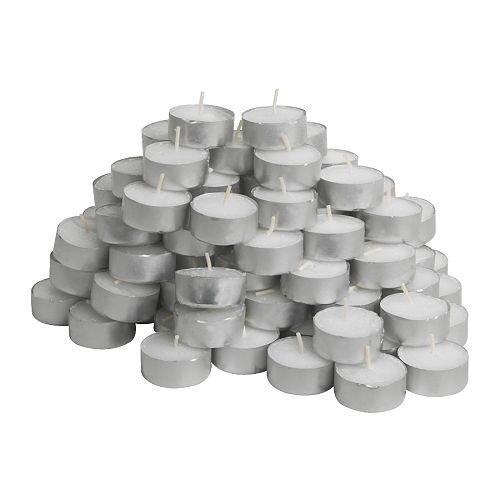 IKEA GLIMMA -Ohne Duft -Teelicht / 100 Stück