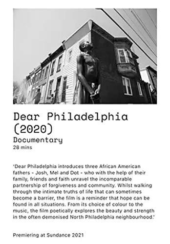Encantadora Filadelfia (2021) Renee Osubu Documental/Cortometraje Póster de película Imágenes artísticas Decoración Sala de estar Dormitorio Lienzo -20x30 pulgadas Sin marco