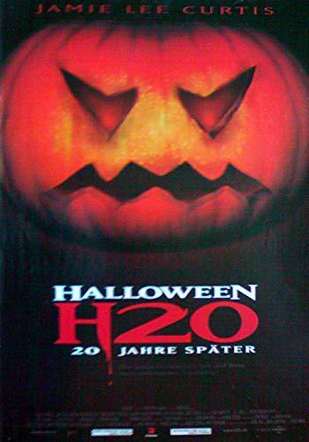 Halloween: H20 Filmposter gerollt A3 29x42 (1)