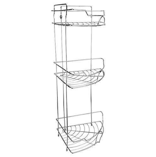 Cocina de acero inoxidable Cuarto de baño Trípode Ventilador Bastidor de almacenamiento Canasta Cuarto de baño Pendiente de baño B