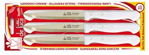 de luca coltellerie DEL201 - Cuchillo para carne, multicolor