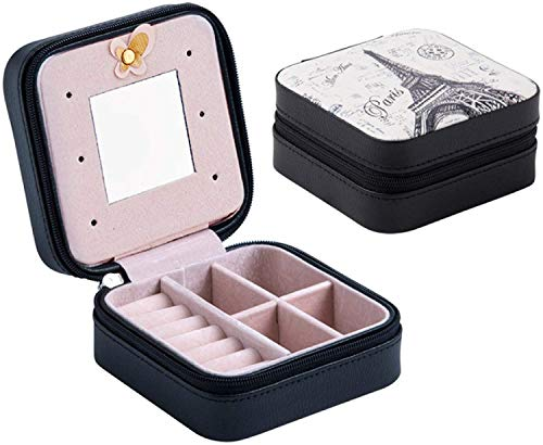 OH Cofre de Embalaje de Joyas para Exquisito Caja de Maquillaje Belleza Cosméticos Organizador Contenedor Diseñado para Mujeres Moda