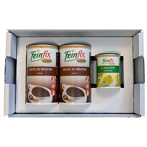 Feinfix Classic 2x Sauce zu Braten 752g Vorratspackung ( 8l Soße ) inkl. kleiner Überraschung