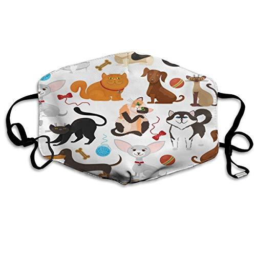 Gezichtsmasker voor huisdieren, honden en katten, masker voor de mond, luchtvervuiling, bescherming van het veiligheidsmasker voor truffels, herbruikbaar, neusafdekking