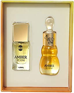 Ajmal Amber In Love for Unisex, 14ml