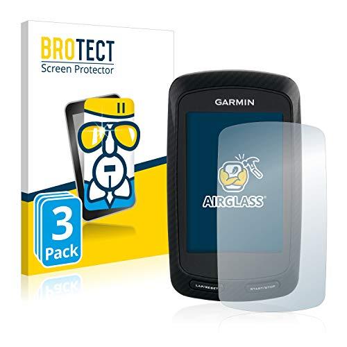 BROTECT Panzerglas Schutzfolie kompatibel mit Garmin Edge 800 (3 Stück) - 9H Extrem Kratzfest, Anti-Fingerprint, Ultra-Transparent