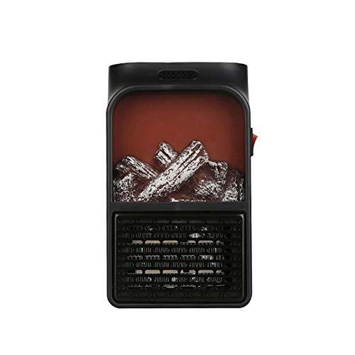 KKmoon Mini Riscaldatore Portatile, Riscaldatore di Fiamma Elettrico 900W, Termoventilatori Riscaldamento del...