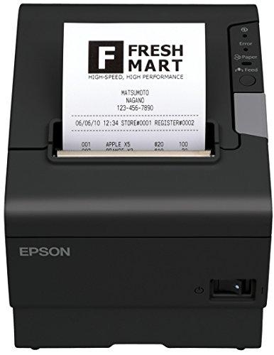 Epson TM-T88V (050) Térmico POS Printer 180 x 180 dpi - Terminal de Punto de Venta (Térmico, POS Printer, 1,41 x 3,39 mm, 20 carácteres por Pulgada, 300 mm/s, 180 x 180 dpi)