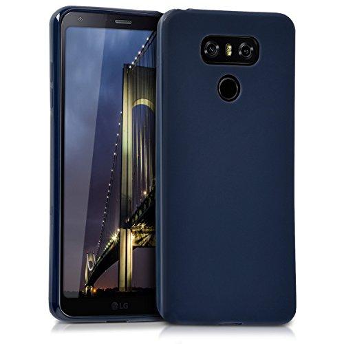 kwmobile Hülle kompatibel mit LG G6 - Handyhülle - Handy Case in Dunkelblau matt