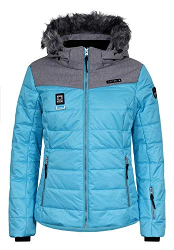 Icepeak Pridie Kunstpelzkragen Skijacke Damen türkis *UVP 149,99 42