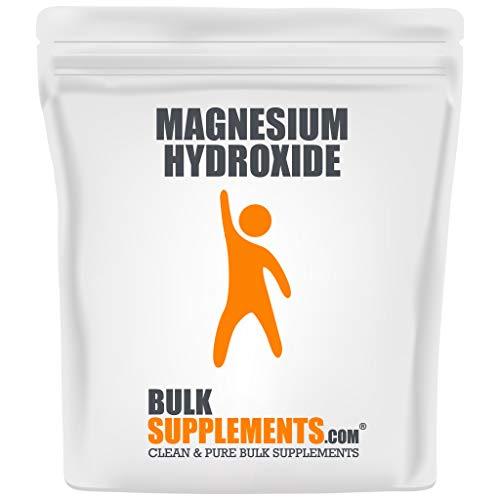 BulkSupplements Magnesium Hydroxide Powder (250 Grams)