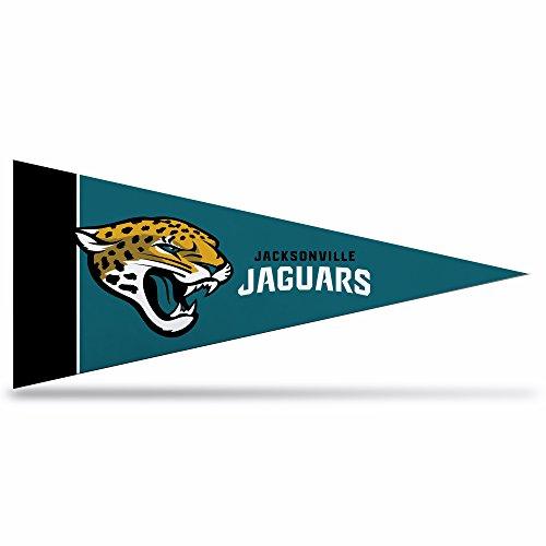 Rico Industries NFL Classic Mini Wimpel Dekor, 10,2 x 22,9 cm, Jacksonville Jaguars