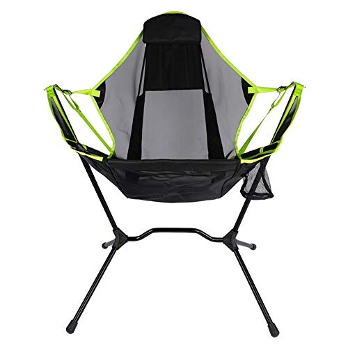 Outdoor Recliner Folding Chair, Outdoor Fishing Chair, Extra Pillow, Rocking Chair, Comfortable and Breathable, Easy To Fold, Strong and Durable, Breathable Mesh, Easy To Fold, Comfortable and Reliabl