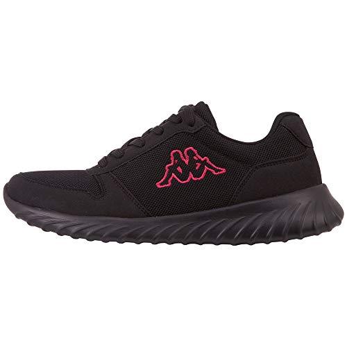 Kappa Samura OC Unisex, Zapatillas para Correr de Carretera Adulto, 1122 Black Pink, 39 EU