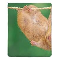 マウスパッド 滑り止め 天然ゴム 長方形 ハムスター