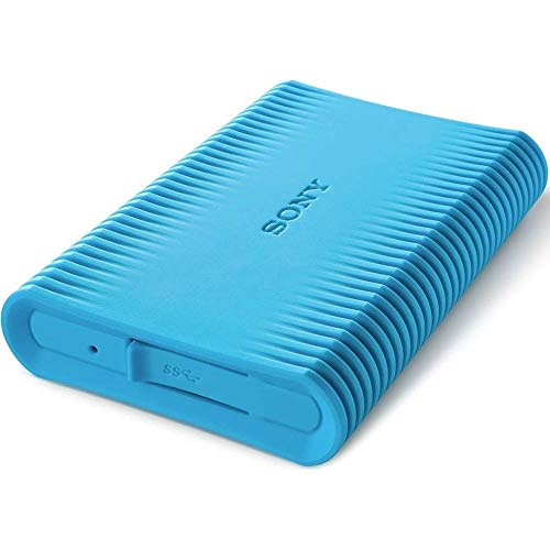 Sony HD-SP1 Externe Festplatte 1000 GB Blau - Externe Festplatten (1000 GB, 2.5 Zoll, 3.0 (3.1 Gen 1), Blau)