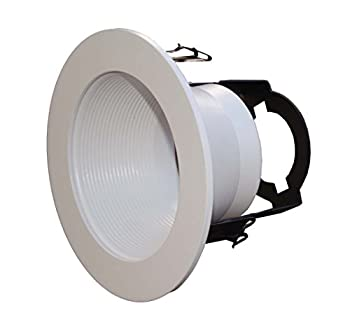 6 Pack-4  Inch Open Baffle Trim with Bracket for Line Voltage Recessed Light/Lighting-fit Halo/Juno