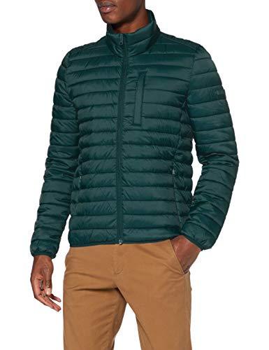 ESPRIT Herren 990EE2G302 Jacke, 300/DARK Green, M