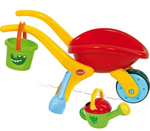 GOWI 558-74 Design Schubkarren Set Classic, 4teilig, Sandkästen und Sandspielzeug