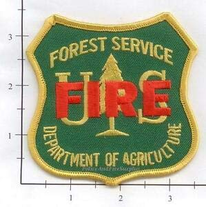 us forest service patch - 3