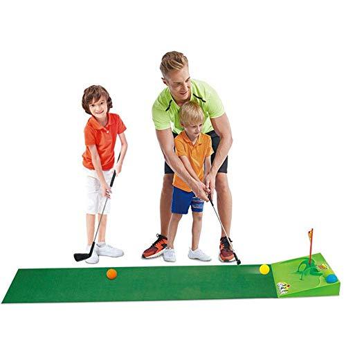 LIUCHANG Golf Pro Toy Set, Kindergolf-Set, Eltern-Kind-Spiele Plastik Golfspielzeug, Kinderclubs Flaggen Praxiskugeln Sport, verbesserte Version Junior Golf Training for Indooroutdoor liuchang20
