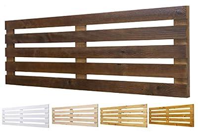 🌲LOS MATERIALES DE NUESTROS PRODUCTOS 🌲: Nuestros productos son fabricados con madera nueva maciza de pino de 1ª calidad 🌲DECORACIÓN INIGUALABLE🌲: Con los palets puedes crear una decoración perfecta para el jardín o terraza y para dentro de los hogar...