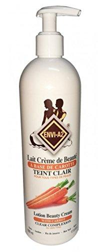 ENVI A2 Lait Crème de Beauté Carotte 500 ml