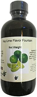 OliveNation Key Lime Flavor Fountain, Concentrated Water Soluble Flavoring for Beverages, Ice Cream, Soda, Non-GMO, Gluten...