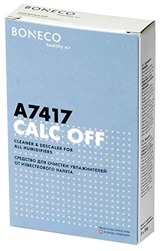 BONECO Calc Off A7417 - umweltfreundliches Reinigungs- und Entkalkungsmittel für alle Luftbefeuchter - für bis zu 3 Anwendungen