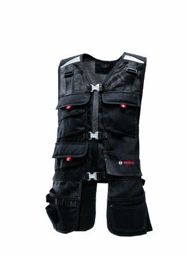 Bosch Professional Veste porte-outils WHV 09 (Taille S, noir)
