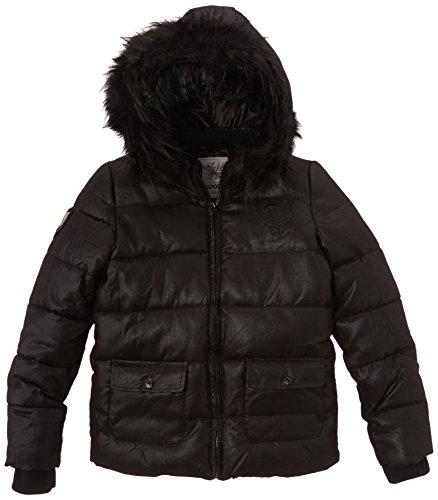 Kaporal - Doudoune - Uni - Fille - Noir - FR : 14 ans (Taille fabricant : 14 ans)