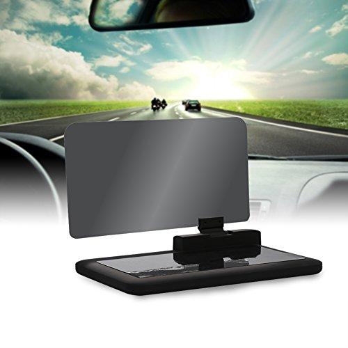 VGEBY Car HUD Phone GPS Heads Up Display for Navigation HD Image Reflector Head Up Display Phone Holder Mount