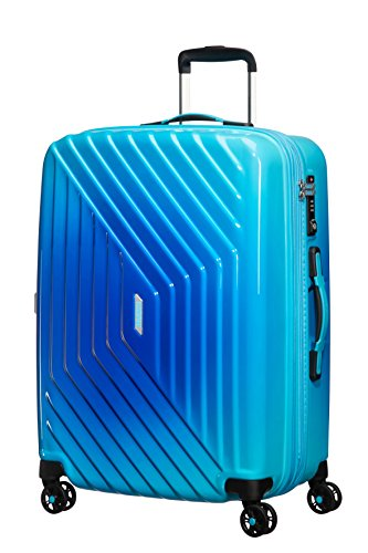 American Tourister - Air Force 1 Spinner 66/28 Espandibile 69/81L - 3.6 KG, Blu (Gradient Blue)