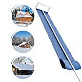 Signstek Roof Snow Removal Tool, 16ft Roof Rake for Snow Removal with Adjustable