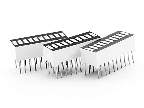 10 Segment LED Bar - White LEDs
