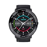 FZXL Schermo a Colori Touch Completo Sport Sport Sport Sport e Orologio da Donna a Pressione cardiaca Bluetooth Call Reminder Multi-Function Health Smart Watch,B