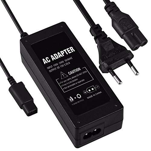 WiCareYo Netzteil Ladegerät Ersatznetzteil Stromkabel Netzadapter For Gamecube NGC Konsolen system