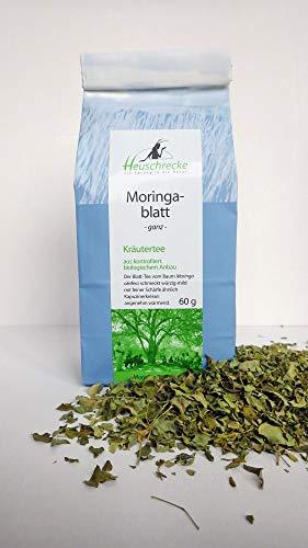 HEUSCHRECKE Bio Moringa- Blatt Tee (6 x 60 gr)