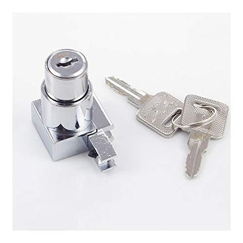 Ranura for tarjeta de 1pcs aleación de zinc Muebles/Oficina del Gabinete bloqueo de la puerta puerta corredera de cristal del escaparate Sólo bloqueo clave/universal abrir la cerradura libre de ro