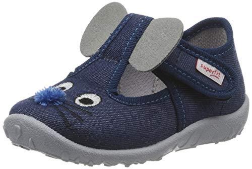 superfit Spotty, Zapatillas de Estar por casa Niños, Azul (Blau...